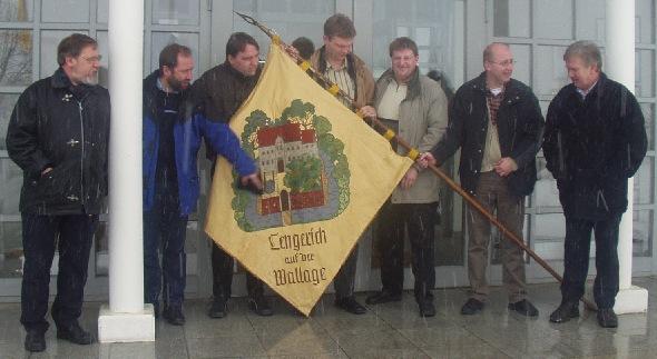 v.l.: Peters Karl-Heinz, Weltring Karl-Heinz, Dall Ludger, Maue Robert, Merscher Michael, Weltring Hans-Jürgen, Gerdes Peter