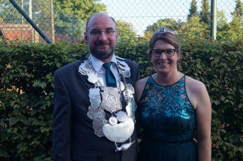 Königspaar 2019 - Ralf und Claudia Heskamp